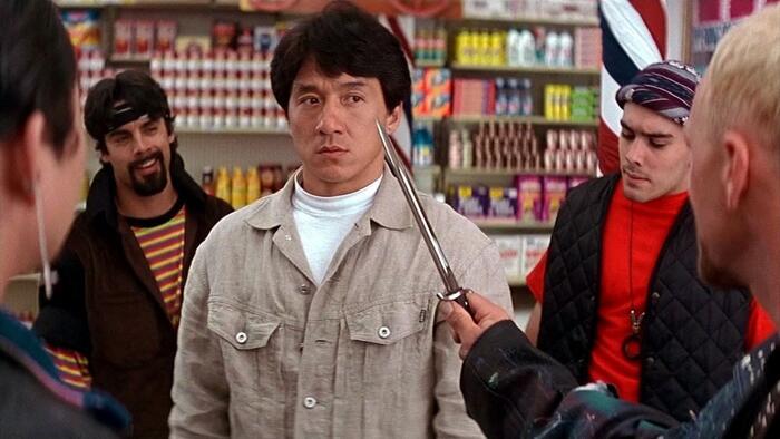 Filmy, ve kterých Jackie Chan málem přišel o život